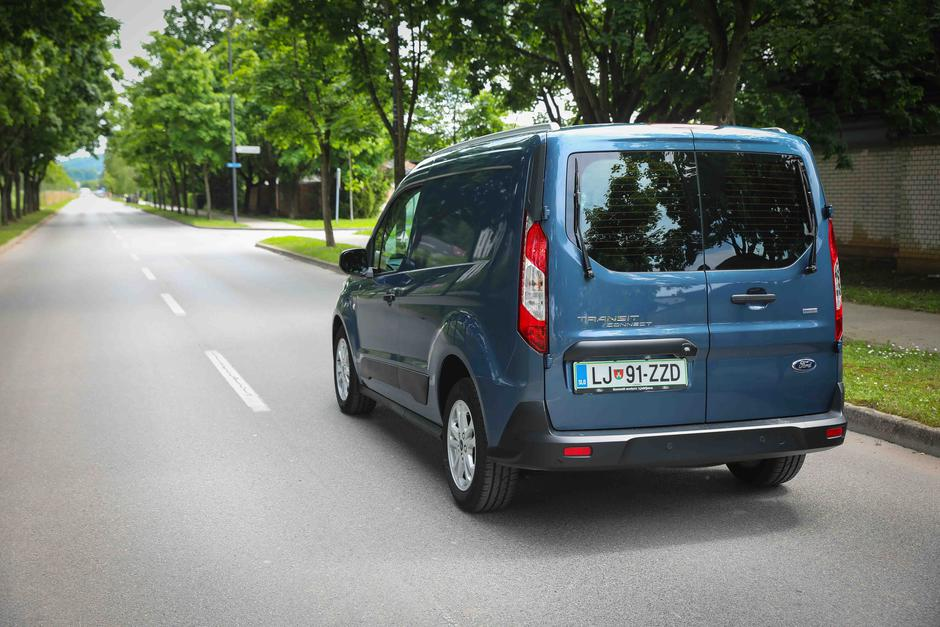 Ford Transit Connect | Avtor: Saša Despot