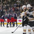 Blue Jackets Bruins