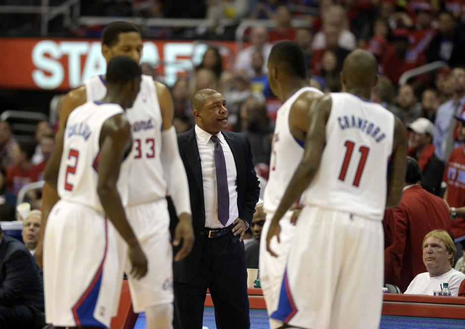 Doc Rivers Los Angeles Clippers Golden State Warriors NBA končnica | Avtor: Reuters