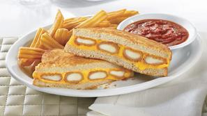 fried cheese melt, Denny's