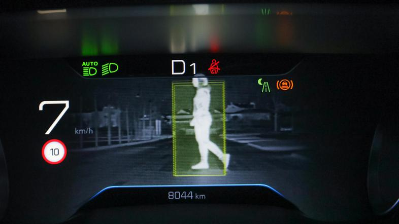 Peugeot 508 Night vision