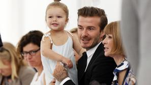 David in Harper Beckham