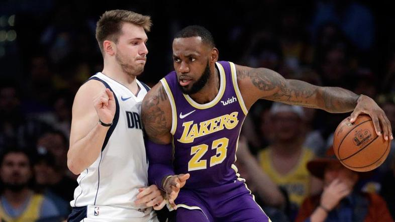 Luka Dončić, LeBron James